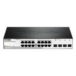 D-Link Switch 16-port 10/100/1000 Base-T with 4 x SFP