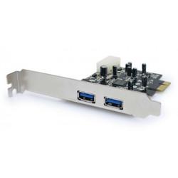 Unitek Kontroler PCI-E 2xUSB3.0 Y-7301
