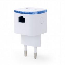 Gembird Wzmacnicz Repeater WiFi bezprzewodowy/biały