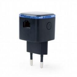 Gembird Wzmacnicz Repeater WiFi bezprzewodowy/czarny