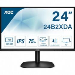 """Monitor AOC 23,8"""" 24B2XDAM VGA DVI HDMI głośniki"""