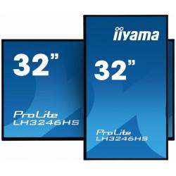 IIYAMA Monitor 32 LH3246HS-B1 24/7IPS pion/poziom daisy chain