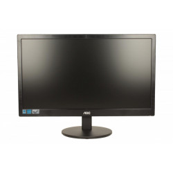 AOC Monitor 19.5 e2070Swn LED Czarny