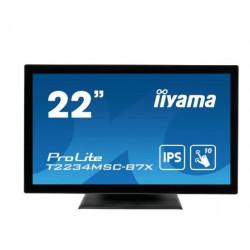 IIYAMA Monitor wielkoformatowy 21.5 cala T2234MSC-B7X POJ.10PKT.IP65,HDMI,DP,350cd,7H