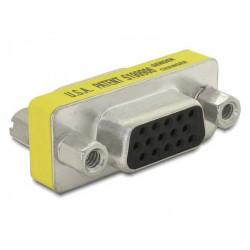 Delock Adapter VGA(15F)-VGA(15F)