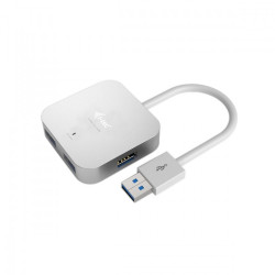 i-tec USB 3.0 Metal Passive HUB 4 Porty bez zasilacza do Notebooka Ultrabooka Tablet PC Obsługa Windows i Mac OS
