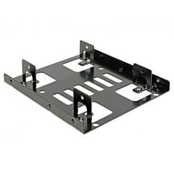 Delock Adapter HDD sanki/szyna 3,5'' na 2x2,5''