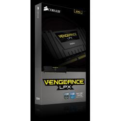 Corsair DDR4 Vengeance LPX 8GB/2666 BLACK CL16-18-18-35 1.20V XMP2.0