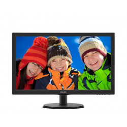Philips Monitor 21.5 223V5LHSB2/00  LED HDMI Czarny