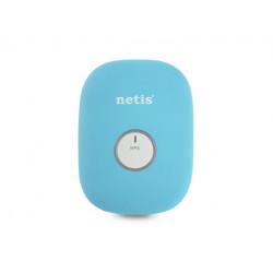 NETIS Repeater WiFi N300+RJ45 niebieski