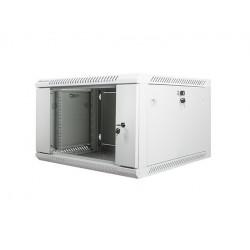 LANBERG Szafa instalacyjna wisząca 19'' 6U 600X600mm szara (drzwi        szklane)