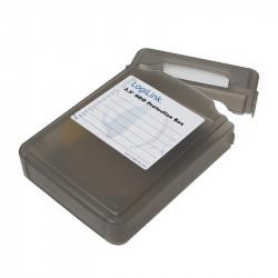 LogiLink Pudełko ochronne do HDD 3.5' czarne