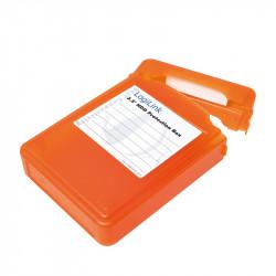 LogiLink Pudełko ochronne do HDD 3.5', pomarańczowe