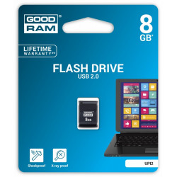 GOODRAM PICCOLO 8GB USB 2.0 Czarny