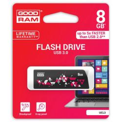 GOODRAM CL!CK   8GB USB 3.0 Black