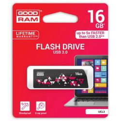 GOODRAM CL!CK  16GB USB 3.0 Black
