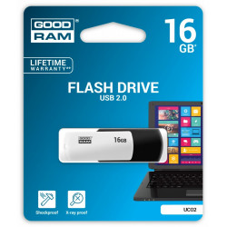 GOODRAM COLOUR BLACK&WHITE 16GB USB2.0