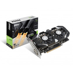 MSI Karta graficzna GeForce GTX 1050 TI OC 4GB DDR5 128BIT DVI-D/HDMI/DP