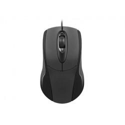 NATEC Mysz optyczna Ruff 1000 DPI czarna