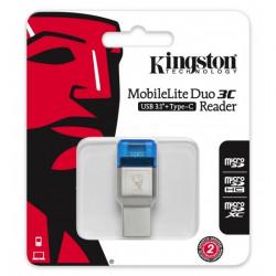 Kingston MobileLite DUO 3C USB3.1+TypeC microSDHC/SDXC