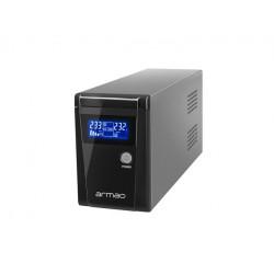 ARMAC UPS Line-Interactive Office 650F LCD 650VA 2xSchuko