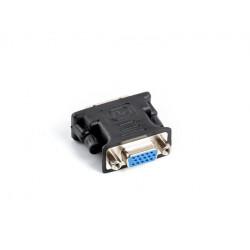 LANBERG Adapter DVI-I (M)(24+5) Dual Link - VGA (F)