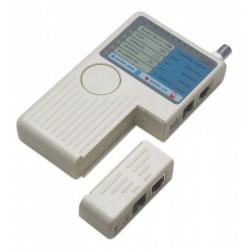 Intellinet Tester okablowania RJ11 /RJ45/USB/BNC