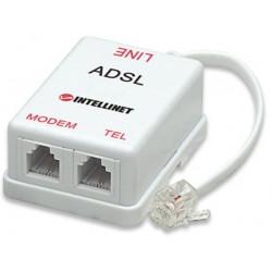 Intellinet Rozdzielacz 2/1 RJ11 ADSL