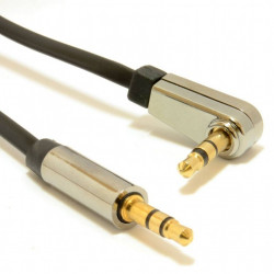 Gembird Kabel stereo mini Jack 3.5mm M/M 0.75m