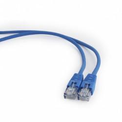 Gembird Patch cord kat.5e osłonka zalewana 0.5M niebieski
