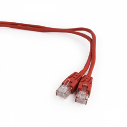 Gembird Patch cord kat.5e osłonka zalewana 1M czerwony