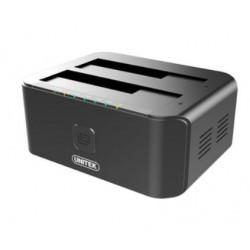 Unitek Stacja dokująca USB 3.0-SATA III CLONE DUAL HDD/SSD Y-3032