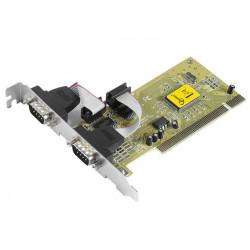 Gembird Karta PCI Kontroler COM RS-232 2x9PIN port