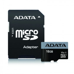 Adata microSD Premier 16GB UHS-1/U3/V30+adapter