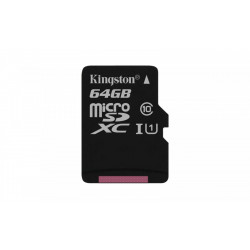 Kingston microSD  64GB Canvas Select 80/10MB/s