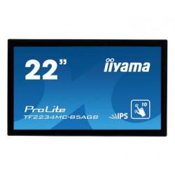 IIYAMA 22'' TF2234MC-B5AG,IPS, POJEMNOŚĆ,10PKT.VGA,HDMI,DP, USB DOTYK, IP65.
