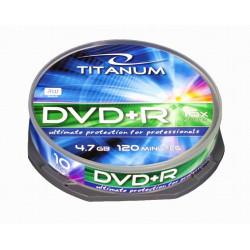 Titanum DVD+R 4,7 GB x16 - Cake Box 10