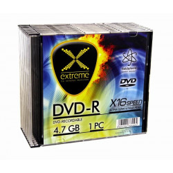 Extreme DVD-R 4,7 GB x16 - Slim 10