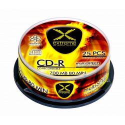 Extreme CD-R 700MB x52 - Cake Box 25