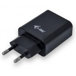i-tec USB Power Charger 2 port 2.4A czarny 2x USB Port DC 5V/max 2.4A