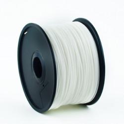 Gembird Filament drukarki 3D ABS/1.75 mm/1kg/biały