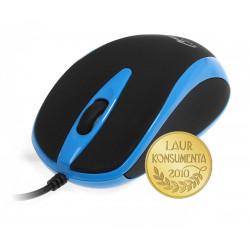 Media-Tech Mysz optyczna 800dpi czarno-niebieska MT1091B