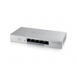 Zyxel GS1200-5HPV2-EU0101F smart switch 5xGigabit 4xPOE 60W