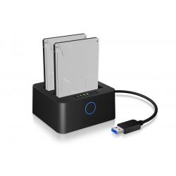 IcyBox IB-2502CL-U3 2 x 2,5 HDD