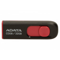 Adata DashDrive Classic C008 32GB USB2.0 czarno-czerwone
