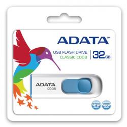Adata DashDrive Classic C008 32GB USB2.0 biało- niebieskie