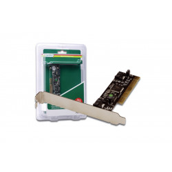 Digitus Karta rozszerzeń/Kontroler SATA PCI, 2xSATA, Low Profile, Chipset: SIL3512