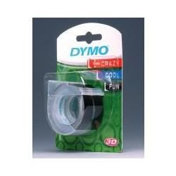 DYMO ETYKIETA 3D 9x3m 3ROLKI DO WYTL. CZARNA  S0847730