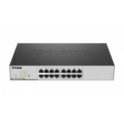 D-Link DGS-1100-16 L2 16x1GbE desktop/rack