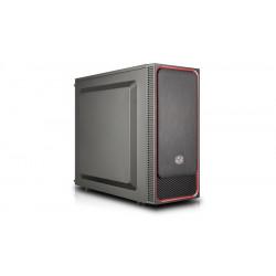 Cooler Master Obudowa MasterBox E500L czarno-czerwona